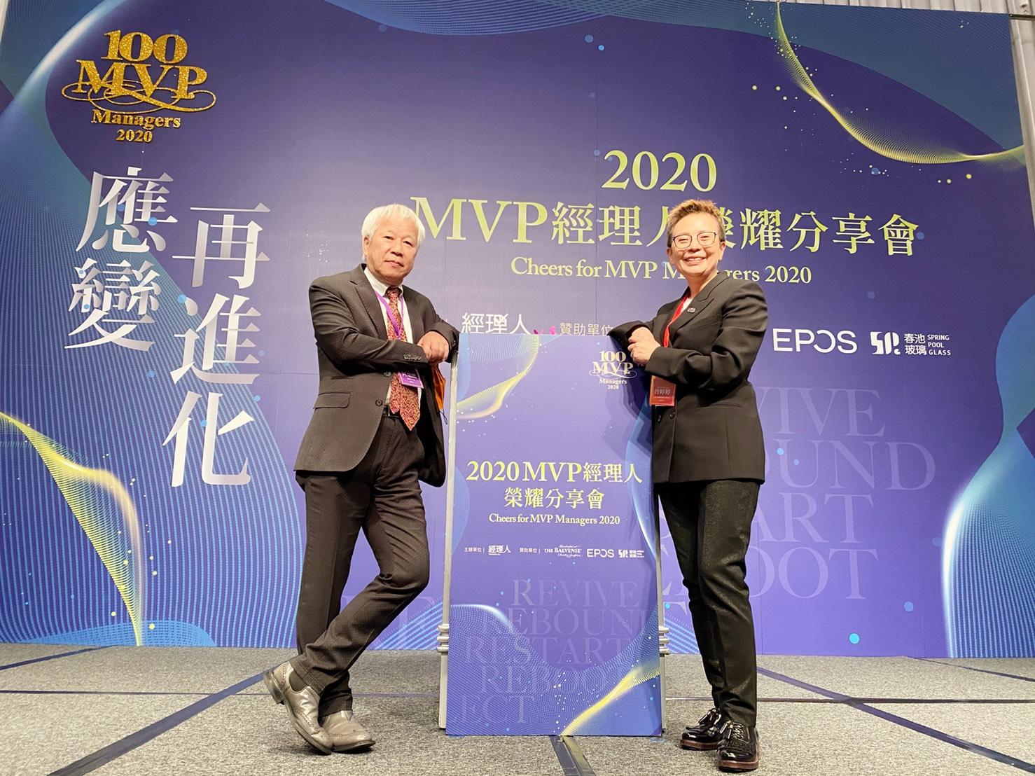 恭喜本會團體會員「欣寶智慧環境股份有限公司」曾婷婷執行長榮獲台灣百大CEO-空氣清淨機認證