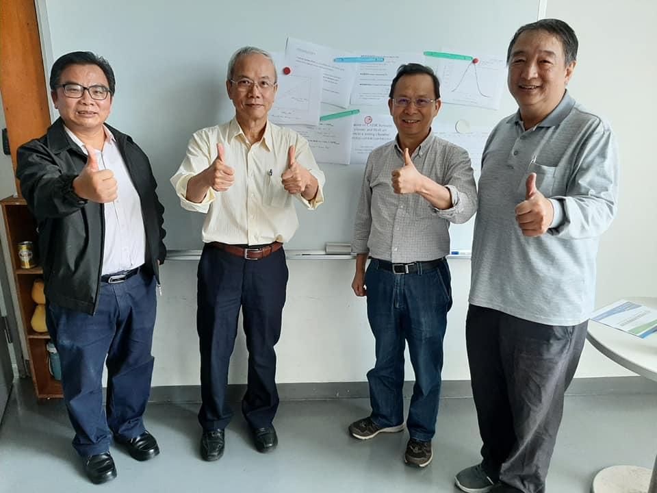 空安會參訪台大公衛學院公衛系陳志傑教授新風系統及空氣清淨機CADR值測試實驗室