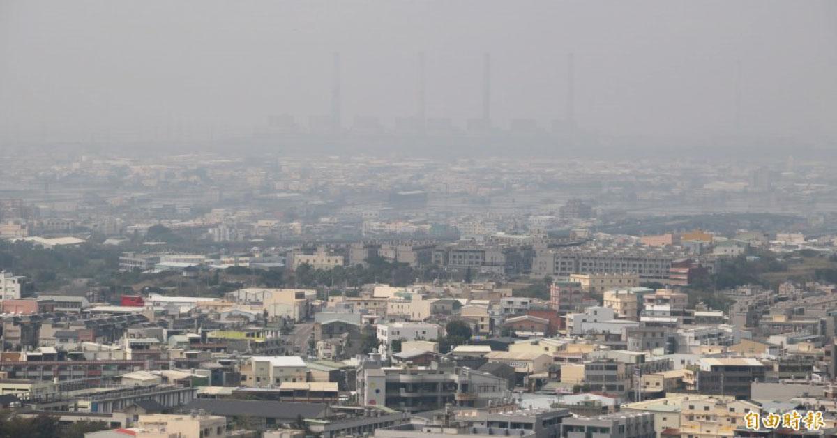 【自由時報】弘光科大研究:太陽下山後 PM2.5濃度提高、空污更嚴重